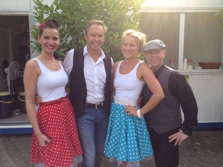 On German TV with Peter Kraus