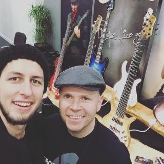 Schack Guitars at the London Bass Guitar Show 2016