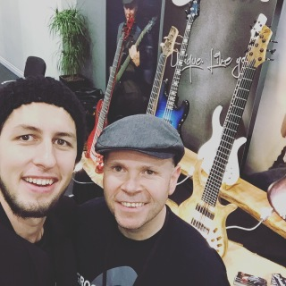 Schack Guitars at the London Bass Guitar Show 2016